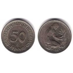 (109.2) Alemania. 1981(G). 50 Pfennig (MBC)