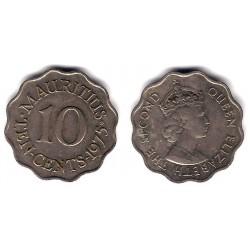 (33) Mauricio. 1975. 10 Cents (MBC+)