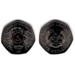 (29) Uganda. 1987. 5 Shillings (SC)