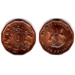 (27) Uganda. 1987. 1 Shilling (SC)