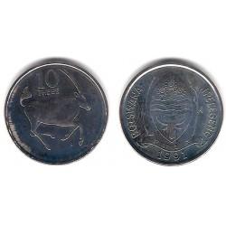 (5a) Botswana. 1991. 10 Thebe (SC-)