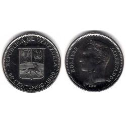 (Y41a) Venezuela. 1990. 50 Céntimos (SC)