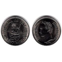 (Y50a) Venezuela. 1990. 25 Centimos (SC)