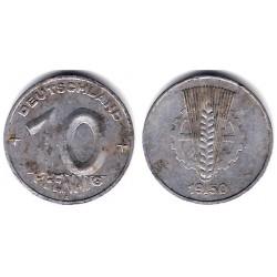 (3) Alemania Democrática. 1958(A). 10 Pfennig (BC)