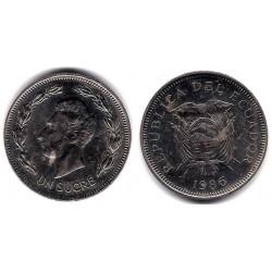 (85.2) Ecuador. 1982. 1 Sucre (EBC)