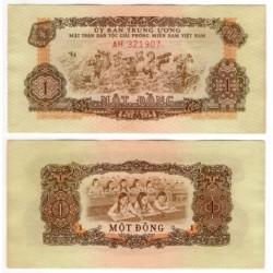 (R4) Vietnam del Sur. 1963. 1 Dong (SC)