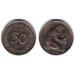 (109.2) Alemania. 1983(J). 50 Pfennig (MBC)