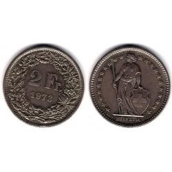 (21a.1) Suiza. 1973. 2 Francs (MBC)