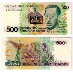 (226b) Brasil. 1990. 500 Cruzerios (SC)
