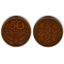 (596) Portugal. 1971. 50 Centavos (MBC)