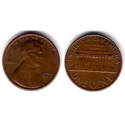 (201) Estados Unidos de América. 1977. 1 Cent (MBC)