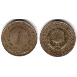 (59) Yugoslavia. 1977. 1 Dinar (MBC)