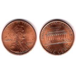 (201) Estados Unidos de América. 2000. 1 Cent (EBC)