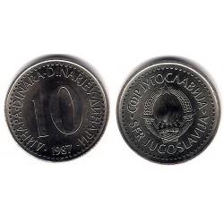 (89) Yugoslavia. 1987. 10 Dinara (SC)