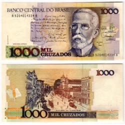 (213b) Brasil. 1988. 1000 Cruzados (SC)