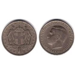 (89) Grecia. 1966. 1 Drachma (MBC)