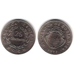 (188.1) Costa Rica. 1972. 25 Centimos (SC)