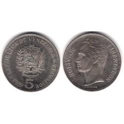 (Y53a.2) Venezuela. 1989. 5 Bolivares (EBC+)