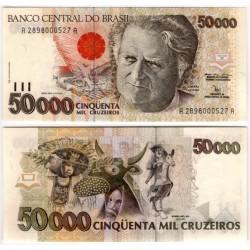 (234) Brasil. 1991-93. 50000 Cruzeiros (SC)