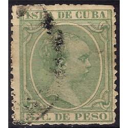 (145) Cuba Colonial. 1891. 5 Centavos de Peso (Usado)