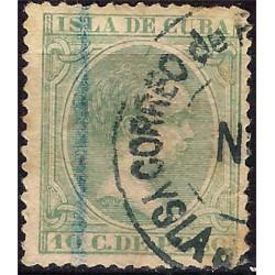 (149) Cuba Colonial. 1896. 10 Centavos de Peso (Usado)