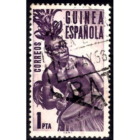 (329) Guinea Española. 1953. 1 Peseta (Usado)