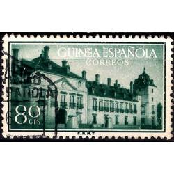 (342) Guinea Española. 1955. 80 Céntimos (Usado)