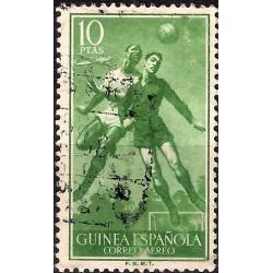 (C19) Guinea Española. 1955-56. 10 Pesetas (Usado)