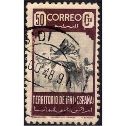 (28) Sidi Ifni. 1947. 50 Céntimos (Usado)