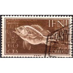 (60) Sidi Ifni. 1953. 60 Céntimos (Usado)