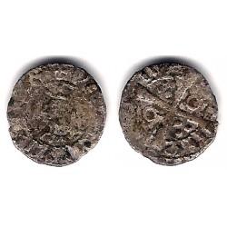 Condado de Barcelona (Pedro III). 1387-96. Obolo (BC-)