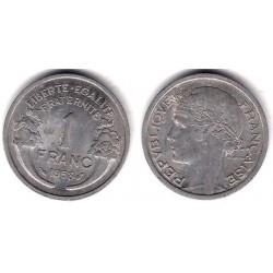 (885a.1) Francia. 1958. 1 Franc (MBC)
