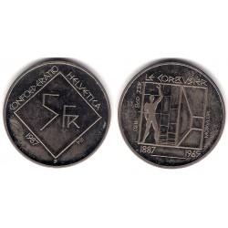 (66) Suiza. 1987. 5 Francs (SC)