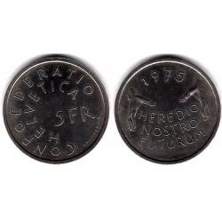 (53) Suiza. 1975. 5 Francs (SC)