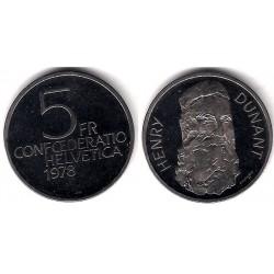 (56) Suiza. 1978. 5 Francs (SC)