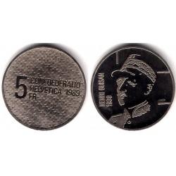 (68) Suiza. 1989. 5 Francs (SC)