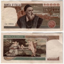 (104) Italia. 1975. 20000 Lira (MBC+)