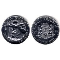 Somalia. 2019. 100 Shillings (Proof) (Plata)