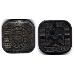 (172) Países Bajos. 1941. 5 Cents (MBC)