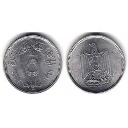 (410) Egipto. 1967/1386. 5 Milliemes (MBC+)