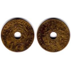 (317) Indias Holandesas. 1945. 1 Cent (BC+)