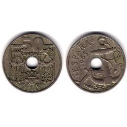 Estado Español. 1963*(19-63). 50 Céntimos (MBC)