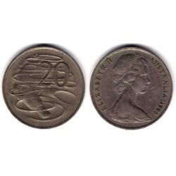 (66) Australia. 1966. 20 Cents (MBC)