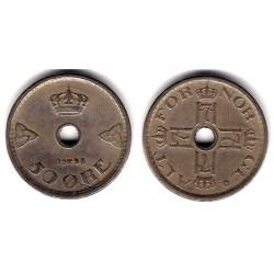 (386) Noruega. 1948. 50 Ore (MBC)
