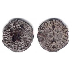 Fernando V. Sin Fecha. Dinero (BC) Ceca de Aragon S