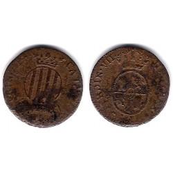 Fernando VII. 1811. Cuarto y Medio (RC+) Ceca de Cataluña