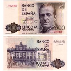 España. 1979. 5000 Pesetas (SC) Sin Serie