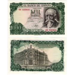 Estado Español. 1971. 1000 Pesetas (SC) Serie 4N