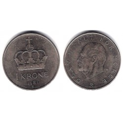 (419) Noruega. 1981. 1 Krone (MBC)