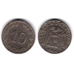 (212.2) Colombia. 1956. 10 Centavos (BC)